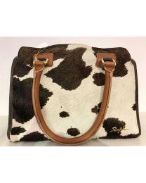 Tasche aus Rindleder-Rindfell