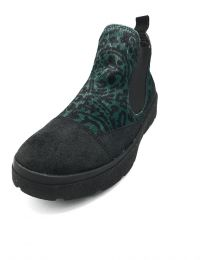 Think! Damen Slip-On Schuh Fellmuster